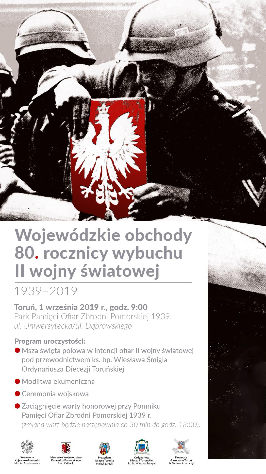 Wojewódzkie obchody 80. rocznicy wybuchu II wojny światowej