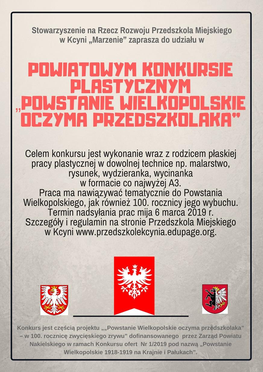 Powstanie Wielkopolskie oczyma przedszkolaka