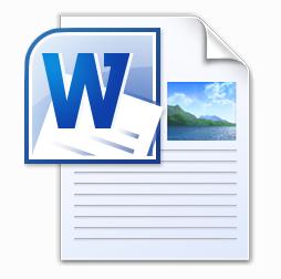 Ikona dokumentu tekstowego WORD