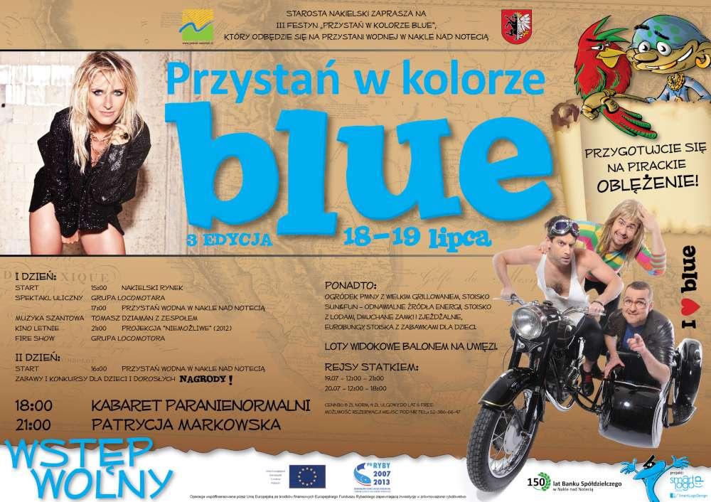 Przystań w kolorze blue 2014
