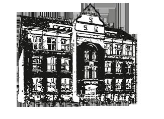 Rycina prezentująca budynek urzędu